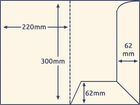 a5 interlocking folder template templates of folder printing direct