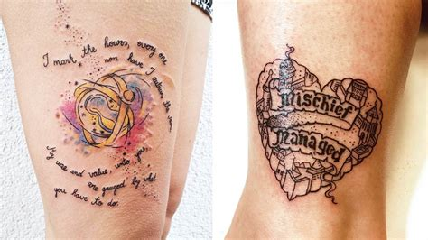 harry potter quote tattoos cosmoph