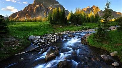 Stream Mountain River Wallpapers Backgrounds Desktop Wallpapersafari