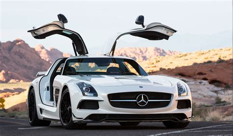 This combination is just irresistible and is limited to 750 units: Mercedes-Benz SLS AMG: A Look Back