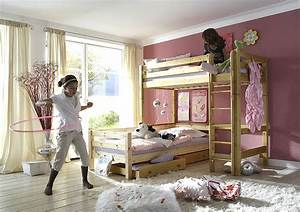 Doppelbett Für Kinder : hochbett f r kinder massivholz m bel in goslar ~ Lateststills.com Haus und Dekorationen