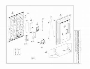 Lg 50lf6100 Lcd Television Parts