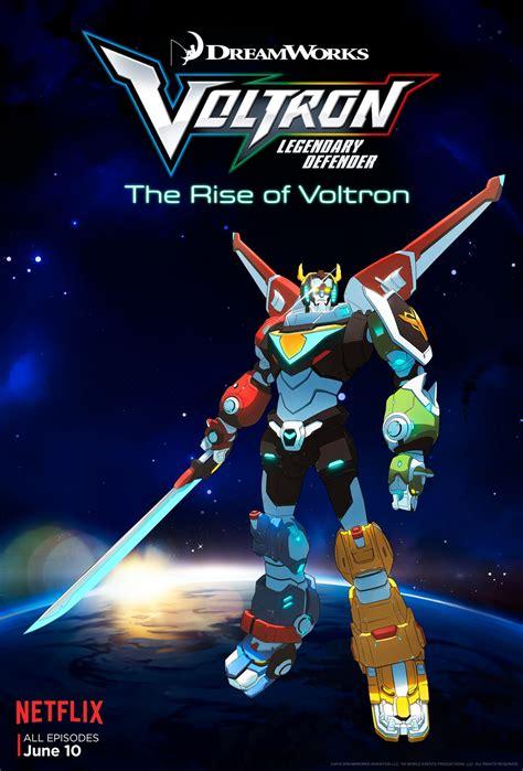 voltron legendary defender netflix poster collider via
