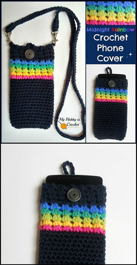 free mobile cover 50 free crochet phone case patterns diy crafts