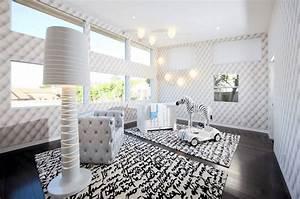 Nursery ceiling light girl fans with