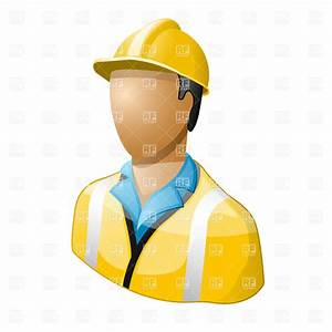 Icon of worker in hard hat, 6257, People, download Royalty ...