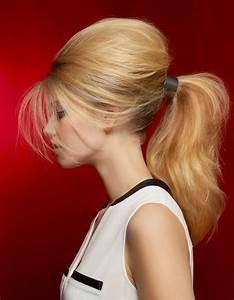 Coiffure Queue De Cheval : la queue de cheval bomb e de vog coiffures de saison ~ Melissatoandfro.com Idées de Décoration