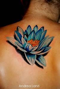 Fleur Lotus Tatouage : tatouage fleur lotus bleu mod les et exemples ~ Mglfilm.com Idées de Décoration