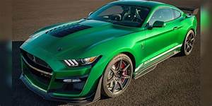 $1.1 million 2020 Ford Mustang Shelby GT500 is very green machine   Fox News