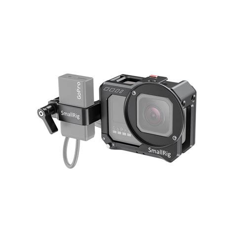 buy  gopro hero black smallrig vlogging cage  mic adapter holder camzilla australia