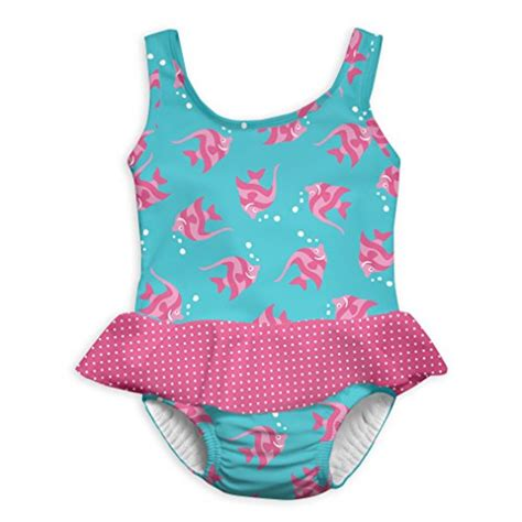 play baby girls pc skirty swimsuit  built