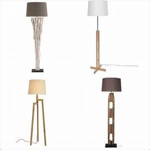 Alinea Luminaire Salon : lampadaire pied en bois achat pas cher avec kibodio ~ Teatrodelosmanantiales.com Idées de Décoration