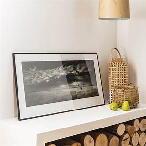 Glasplatte 100 X 40 : cadre accent 40 x 60 cm noir leroy merlin ~ Bigdaddyawards.com Haus und Dekorationen