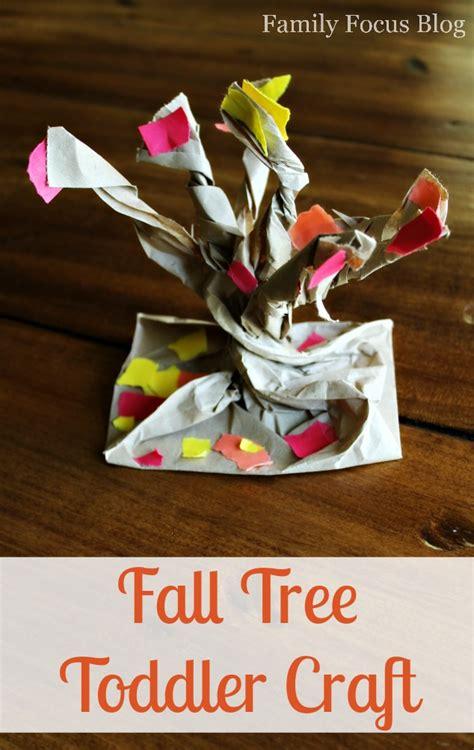 fall preschool craft    tree  fall foliage