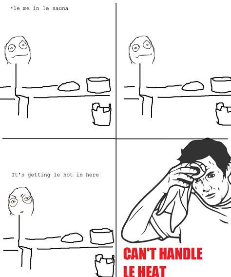 Sweating Man Meme - towel bar memes