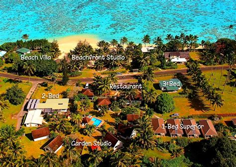 palm grove cook islands accommodation