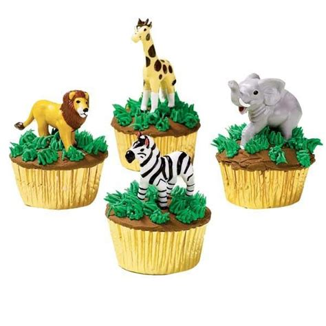 ideas  zoo cupcakes  pinterest jungle