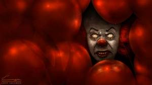 Pennywise the Clown Art Inspired by Stephen King's IT ...