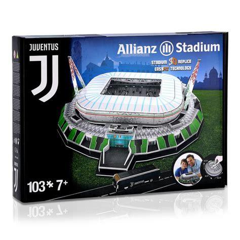 JUVENTUS ALLIANZ STADIUM 3D PUZZLE - Juventus Official ...