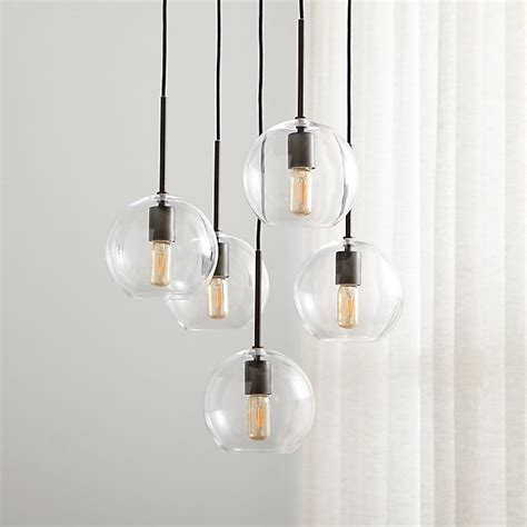 Jamie Cluster Pendant Light   Reviews   Crate and Barrel