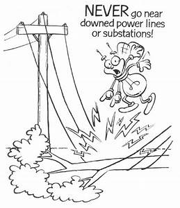 social media safety colouring pages With electric energy