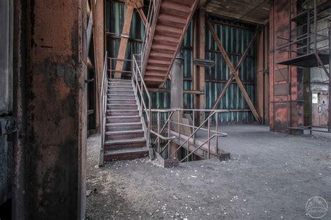 urban relics orange factory   factory  waste