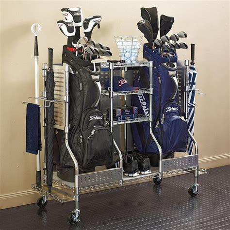 golf bag holder for garage houzz home design decorating and renovation ideas and