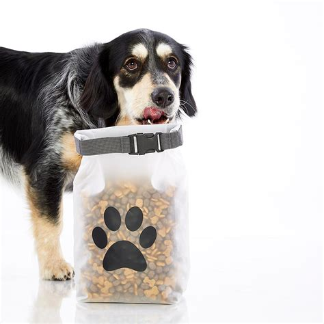 reusable pet food storage bag  container store