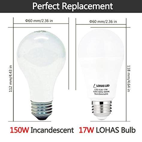 150 watt light bulb equivalent lohas a19 led bulb 150 watt led light bulbs equivalent