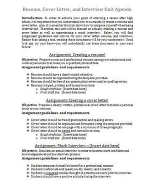 Unit Resume Cover Letter by 25 Best Images About Cover Letters On