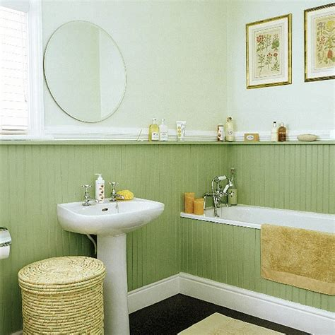 panelled bathroom ideas bathroom with tongue and groove panelling housetohome co uk