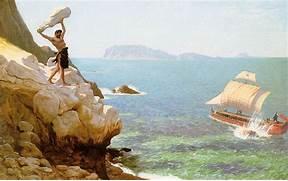 odysseus comes across ...