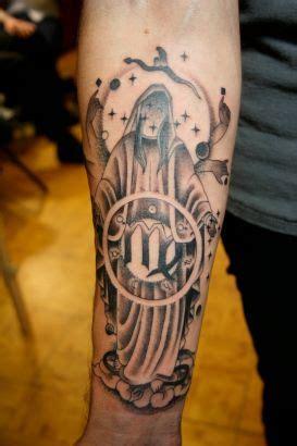 devil  virgo sign tattoo tattoo  itattooz