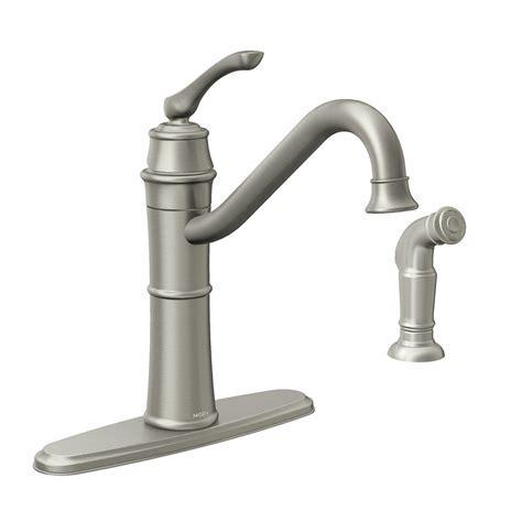 older moen kitchen faucets shop moen wetherly spot resist