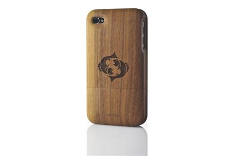 wood iphone cases solid wood for iphone 4 4s walnut idryad