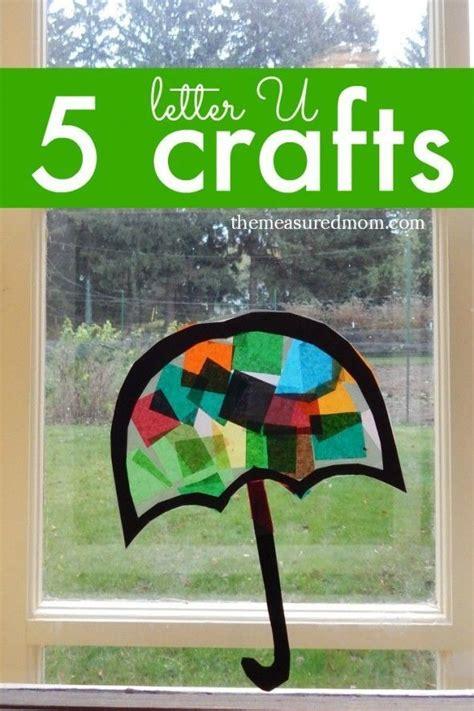 letter  crafts letter  crafts letter  crafts umbrella craft