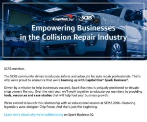 capital one phone number auto spark business iq capital one joined scrs to empower auto