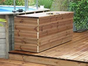 Fabriquer Un Abri De Piscine : projet de travaux maison une terrasse bois comme on en ~ Zukunftsfamilie.com Idées de Décoration