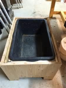 mbel aus holz selber bauen einen pflanzkübel aus douglasie holz selber bauen diy