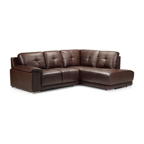 sectional with chaise and ottoman furniture classic brown leather sectional tufted couch
