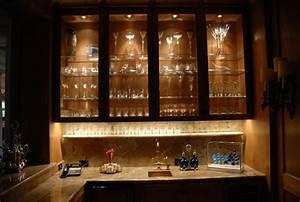 Cabinet Lighting - Contemporary - Wine Cellar - Houston