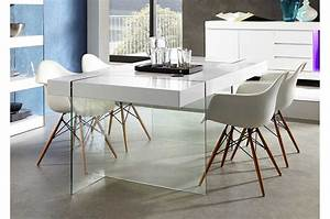 table en verre design salle a manger table basse en fer et With table de salle a manger en verre conforama