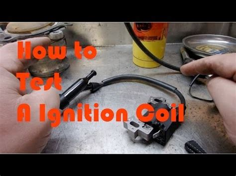 ignition coil primary secondary resistance testing youtube