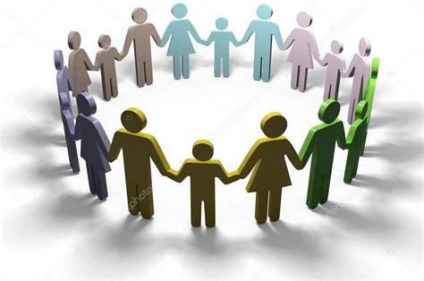 familie soziale menschen zusammenschliessen gemeinschaft