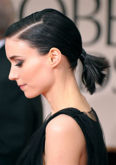 ponytail hairstyles hair celebrity elle ponytails cute