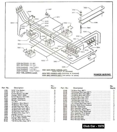 club car onboard computer bypass wiring diagram image
