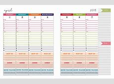 Calendar 2019 Printable One Page Free Printables from Paper