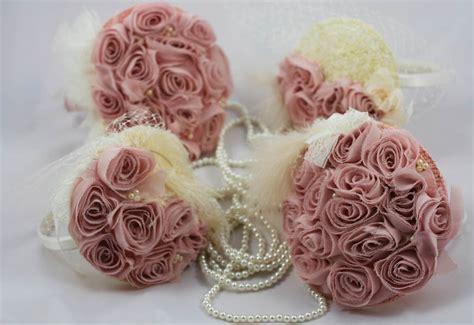 Dusky Pink Roses Arabella Bridal