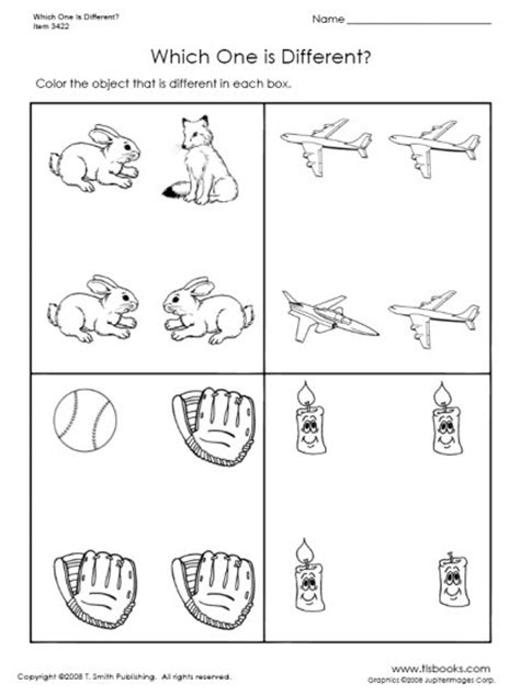 12 best images of objects that are the same worksheet 560 | same and different worksheets preschool 498095