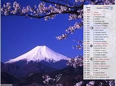 CALENDARIO 2018 foto SFONDI per sfondo desktop Settemuseit